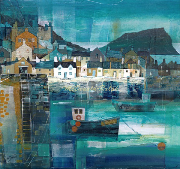 Gillian McDonald : Fishing Village III