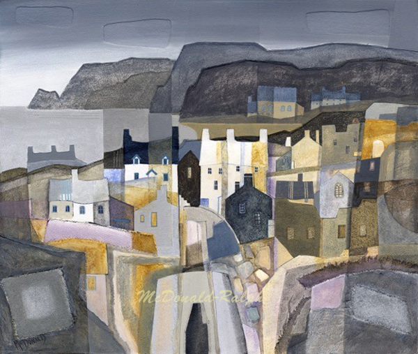 Gillian McDonald : Fishing Village IV